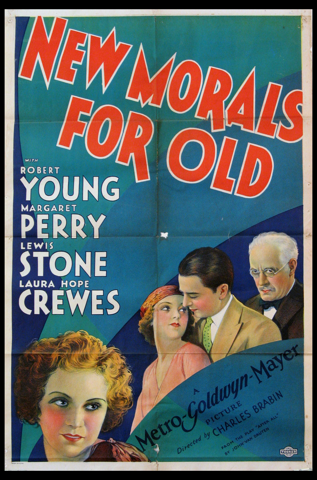 NEW MORALS FOR OLD @ FilmPosters.com