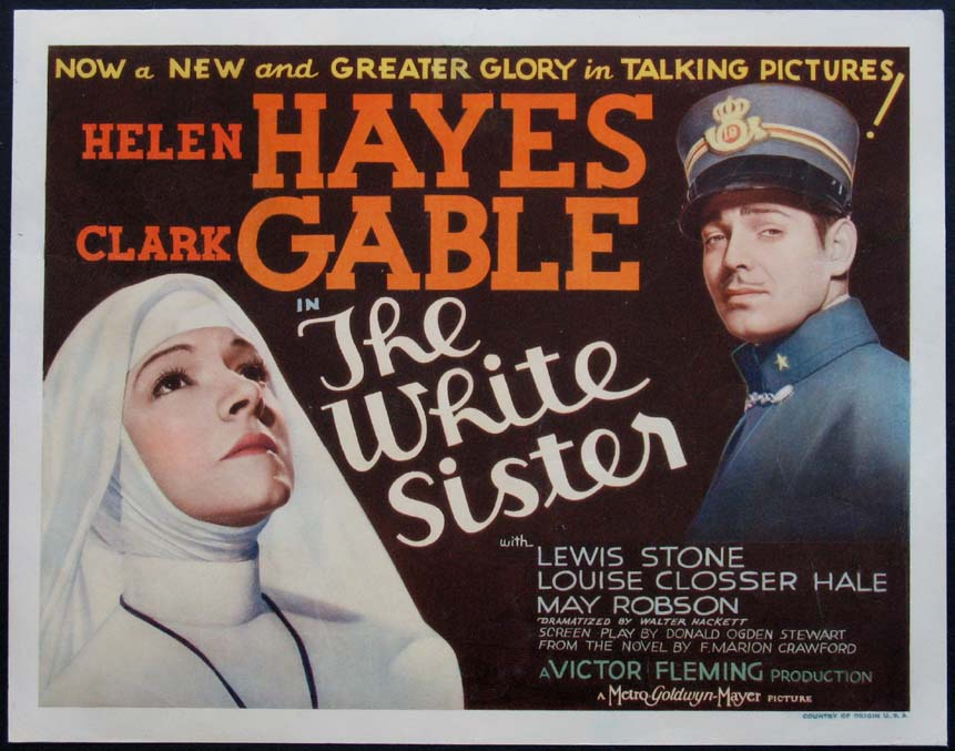 WHITE SISTER, THE @ FilmPosters.com