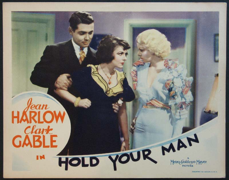 HOLD YOUR MAN @ FilmPosters.com