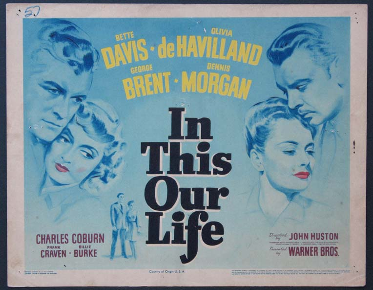 IN THIS OUR LIFE @ FilmPosters.com
