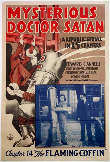 MYSTERIOUS DOCTOR SATAN @ FilmPosters.com