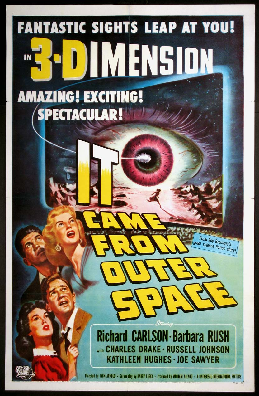 Movie posters lobby cards vintage movie memorabilia for The thing that came from outer space