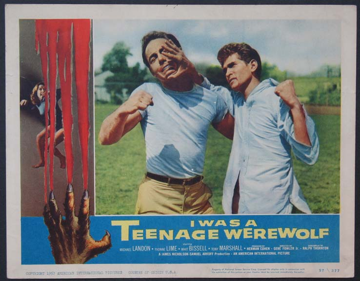 I WAS A TEENAGE WEREWOLF @ FilmPosters.com
