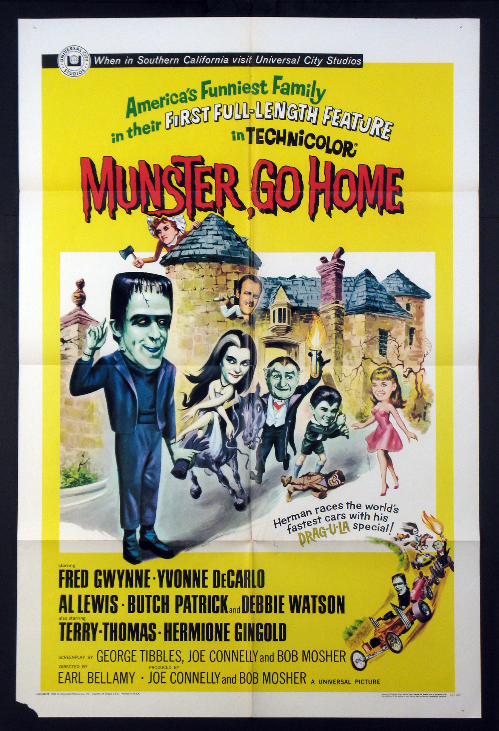 MUNSTER, GO HOME (Munster Go Home) @ FilmPosters.com