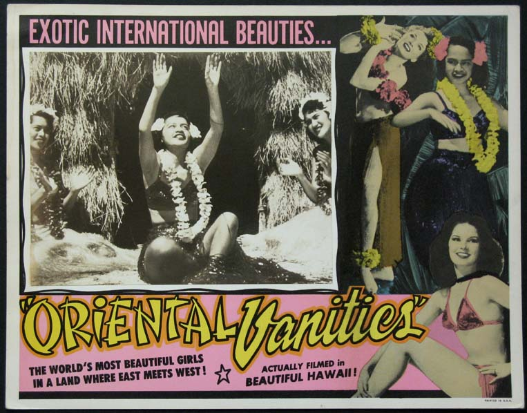 ORIENTAL VANITIES (aka Burlesque in Hawaii) @ FilmPosters.com