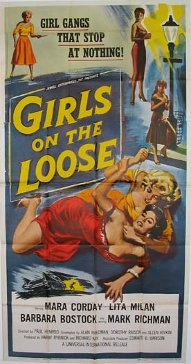 GIRLS ON THE LOOSE @ FilmPosters.com
