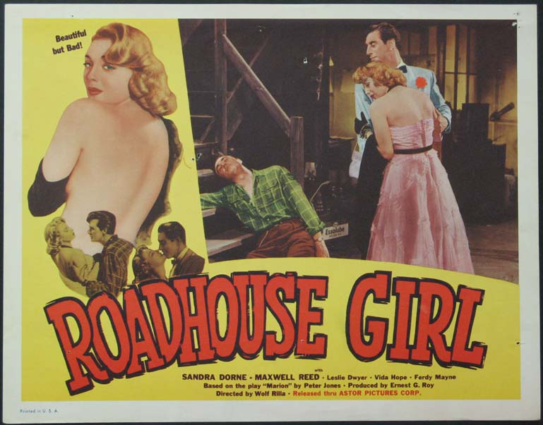 ROADHOUSE GIRL (aka Marilyn) @ FilmPosters.com
