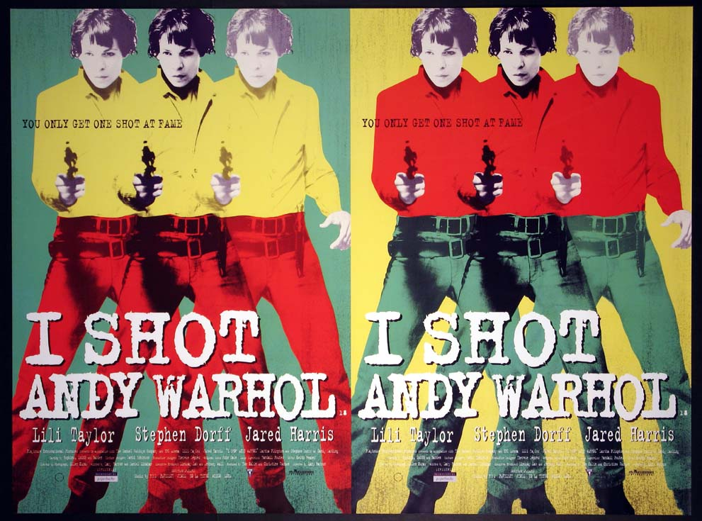 I SHOT ANDY WARHOL @ FilmPosters.com