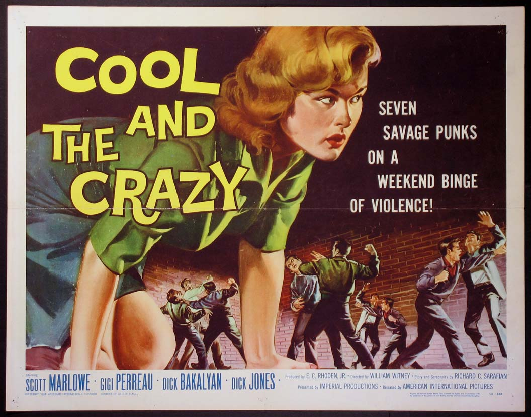 COOL AND THE CRAZY @ FilmPosters.com
