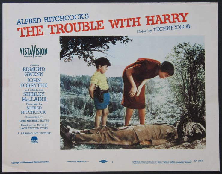 TROUBLE WITH HARRY, THE @ FilmPosters.com