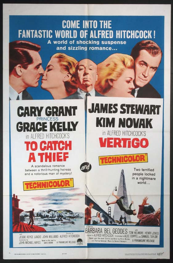 TO CATCH A THIEF / VERTIGO @ FilmPosters.com