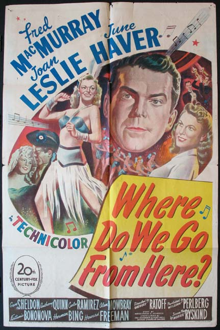 WHERE DO WE GO FROM HERE? @ FilmPosters.com