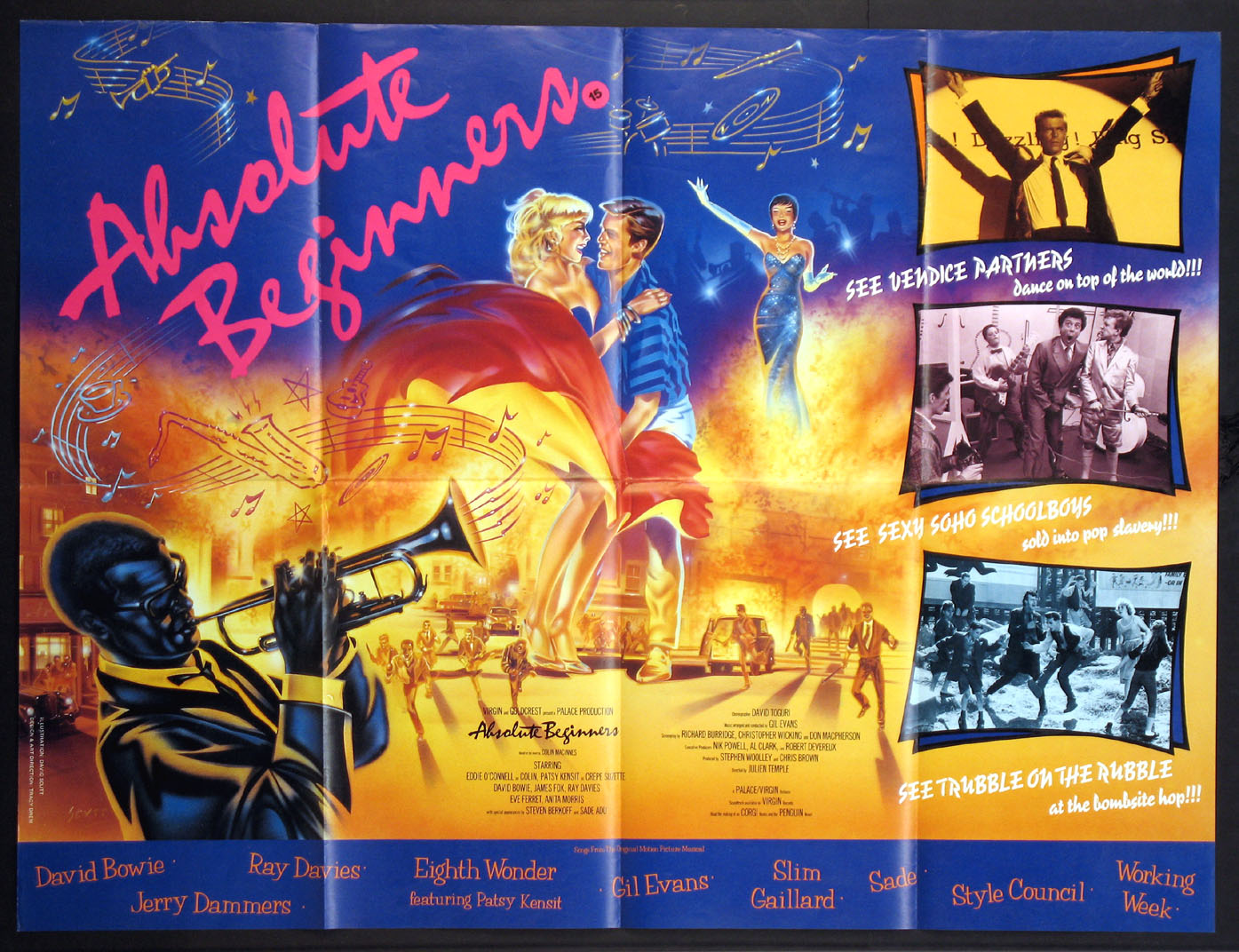 ABSOLUTE BEGINNERS @ FilmPosters.com