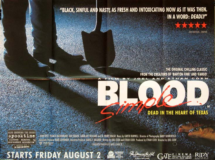 BLOOD SIMPLE @ FilmPosters.com