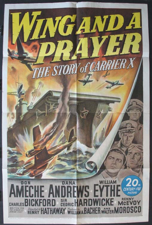 WING AND A PRAYER @ FilmPosters.com
