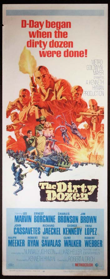 DIRTY DOZEN, THE @ FilmPosters.com