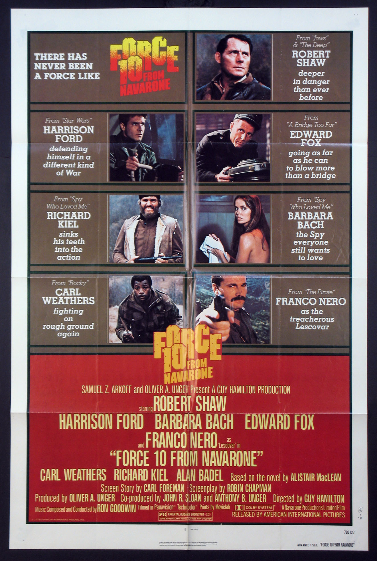 FORCE 10 FROM NAVARONE @ FilmPosters.com