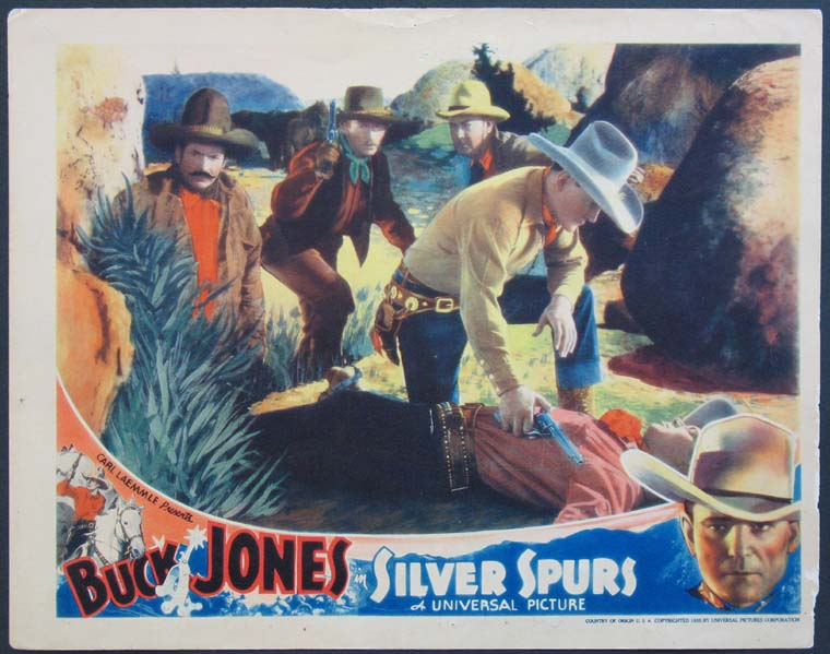 SILVER SPURS @ FilmPosters.com