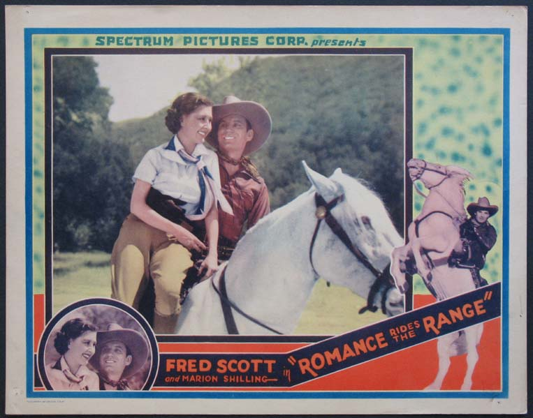 ROMANCE RIDES THE RANGE @ FilmPosters.com