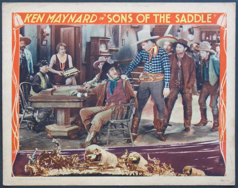 SONS OF THE SADDLE @ FilmPosters.com