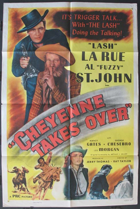 CHEYENNE TAKES OVER @ FilmPosters.com