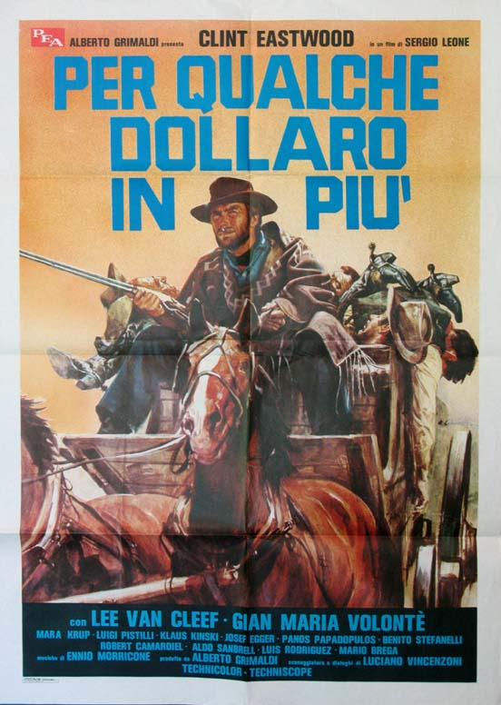FOR A FEW DOLLARS MORE @ FilmPosters.com