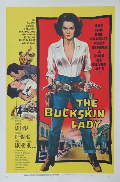 BUCKSKIN LADY, THE @ FilmPosters.com