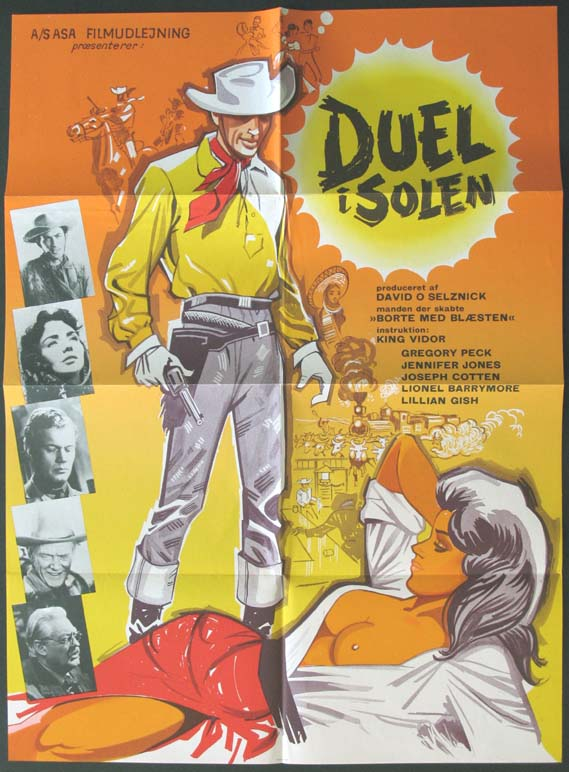 DUEL IN THE SUN @ FilmPosters.com