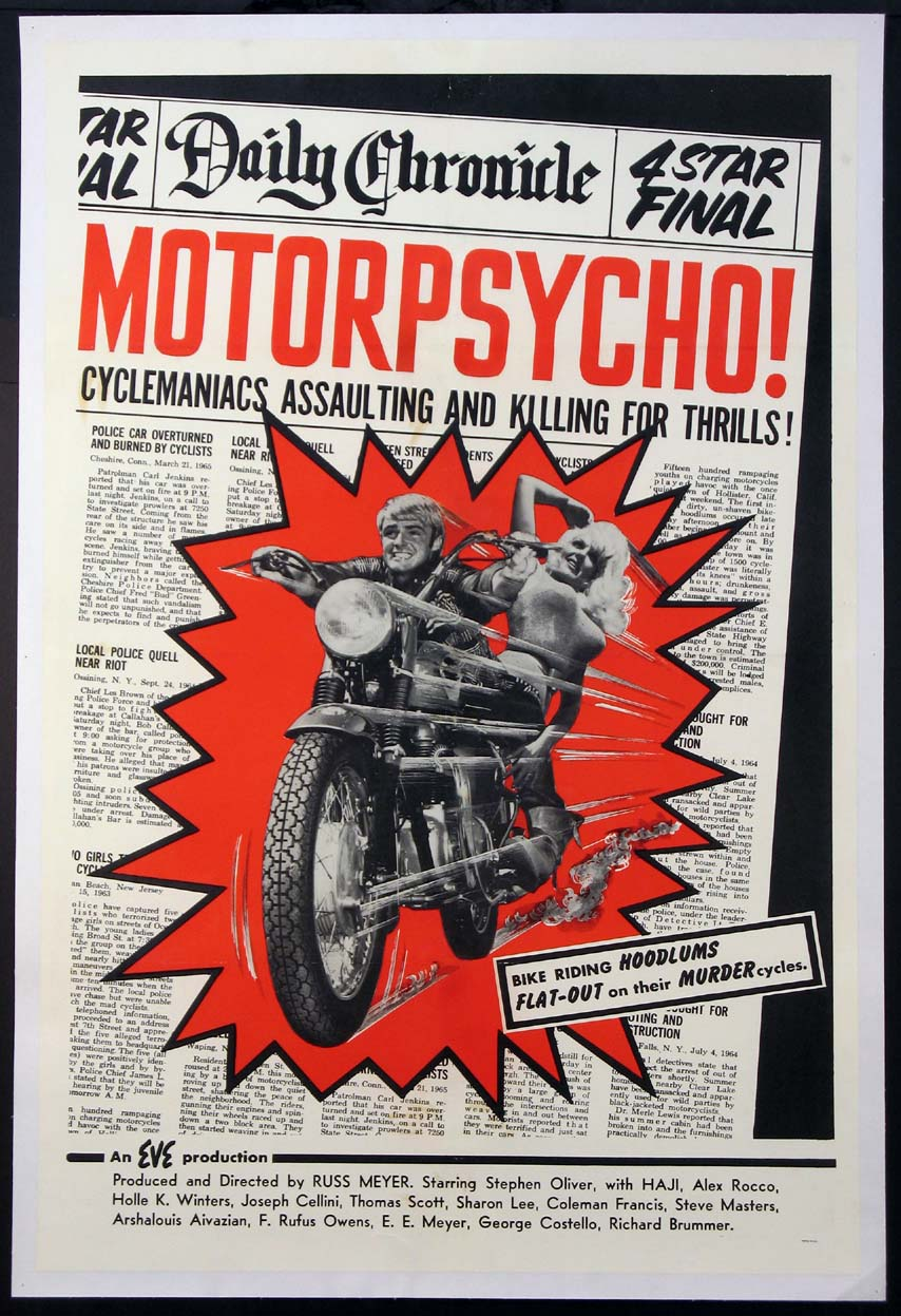 MOTOR PSYCHO (Motorpsycho) @ FilmPosters.com