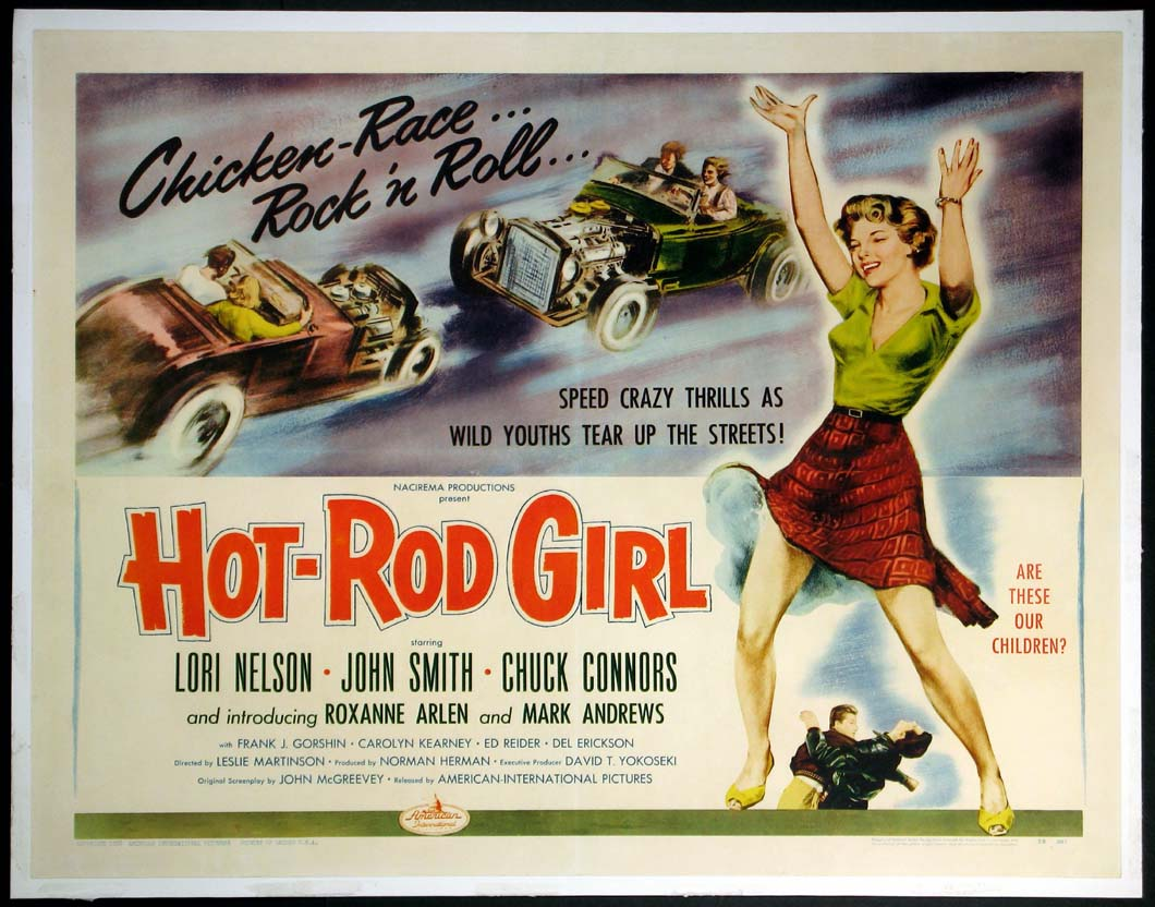 HOT ROD GIRL (Hot-Rod Girl) @ FilmPosters.com