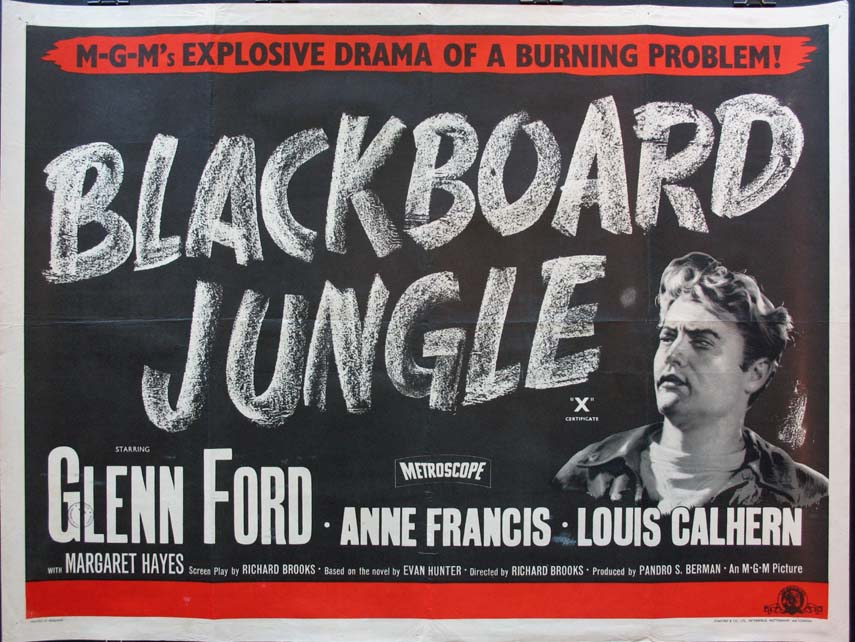 BLACKBOARD JUNGLE @ FilmPosters.com