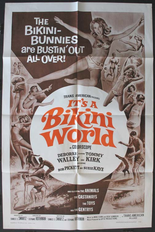 IT'S A BIKINI WORLD @ FilmPosters.com