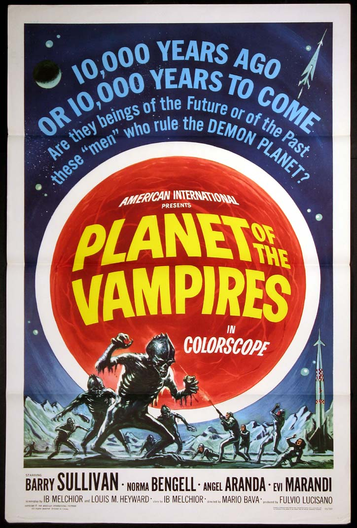 PLANET OF THE VAMPIRES @ FilmPosters.com