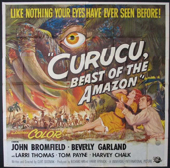 CURUCU, Beast of the Amazon @ FilmPosters.com