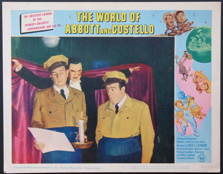 WORLD OF ABBOTT AND COSTELLO @ FilmPosters.com
