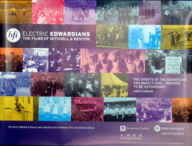 ELECTRIC EDWARDIANS - THE LOST FILMS OF MITCHELL AND KENYON @ FilmPosters.com