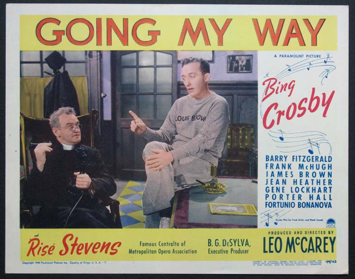 GOING MY WAY @ FilmPosters.com