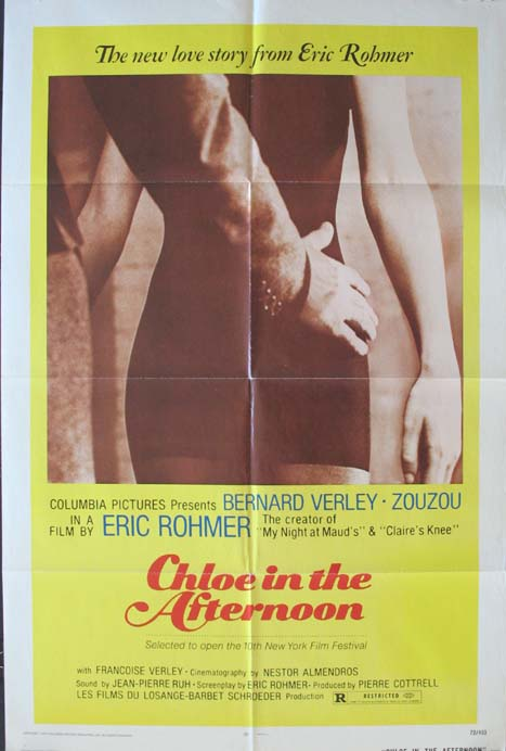 CHLOE IN THE AFTERNOON @ FilmPosters.com