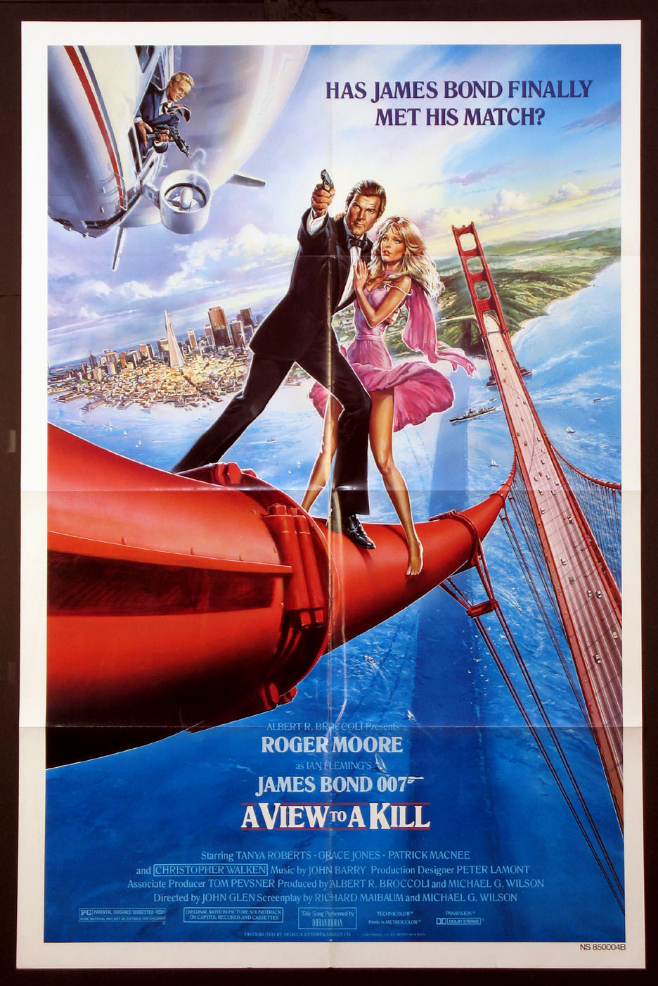 VIEW TO A KILL, A (James Bond) @ FilmPosters.com