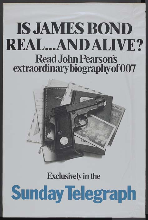 JAMES BOND: THE AUTHORISED BIOGRAPHY OF 007 @ FilmPosters.com