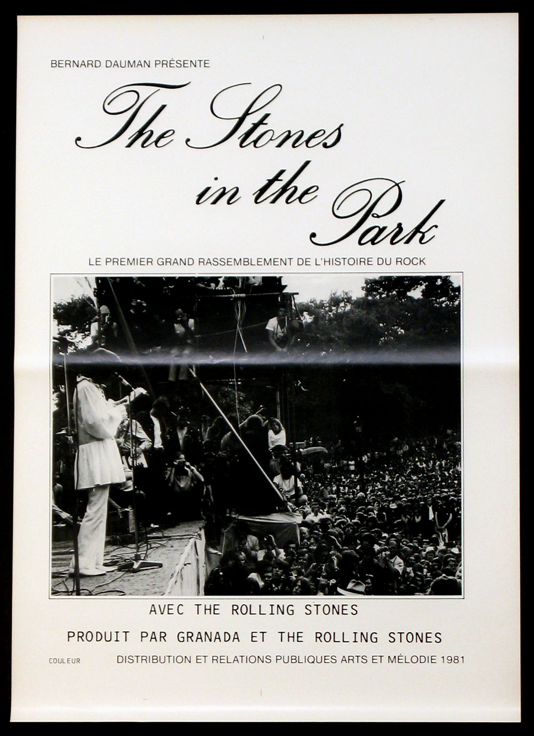 STONES IN THE PARK, THE @ FilmPosters.com
