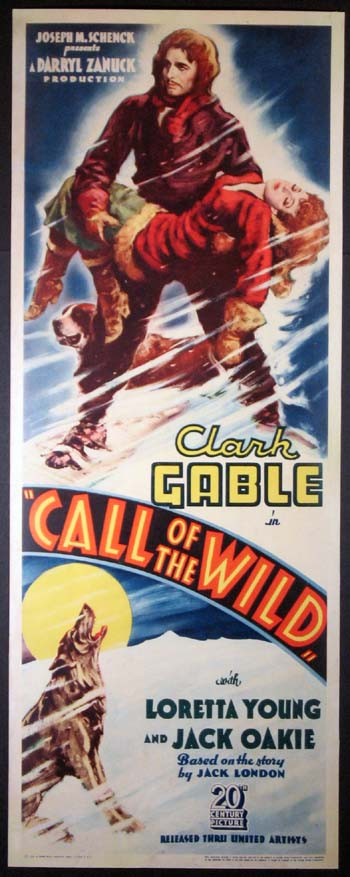 CALL OF THE WILD @ FilmPosters.com