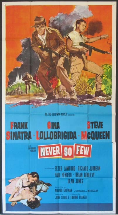 NEVER SO FEW @ FilmPosters.com