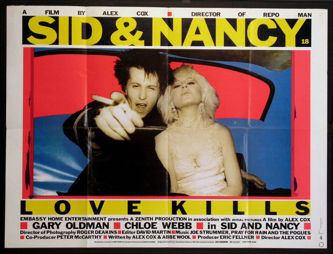SID AND NANCY (aka Sid & Nancy, Love Kills) @ FilmPosters.com