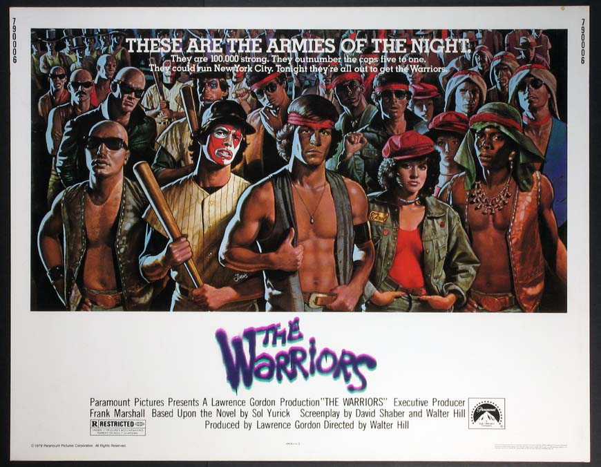 The Warriors Poster Warriors  the  the warriors The Warriors Movie Poster