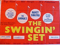 SWINGIN' SET, THE (Get Yourself A College Girl) @ FilmPosters.com