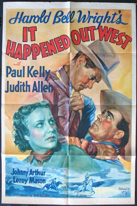 IT HAPPENED OUT WEST @ FilmPosters.com
