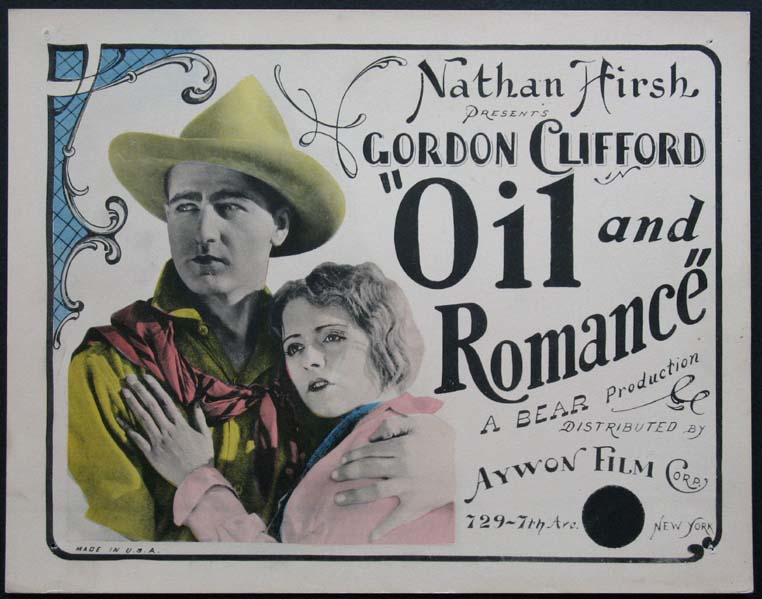 OIL AND ROMANCE @ FilmPosters.com