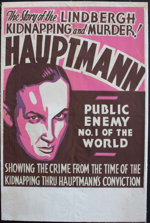 HAUPTMANN Public Enemy No. 1 of the World @ FilmPosters.com