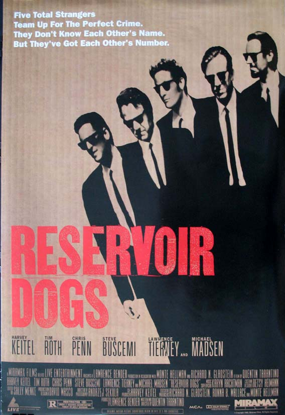 RESERVOIR DOGS @ FilmPosters.com
